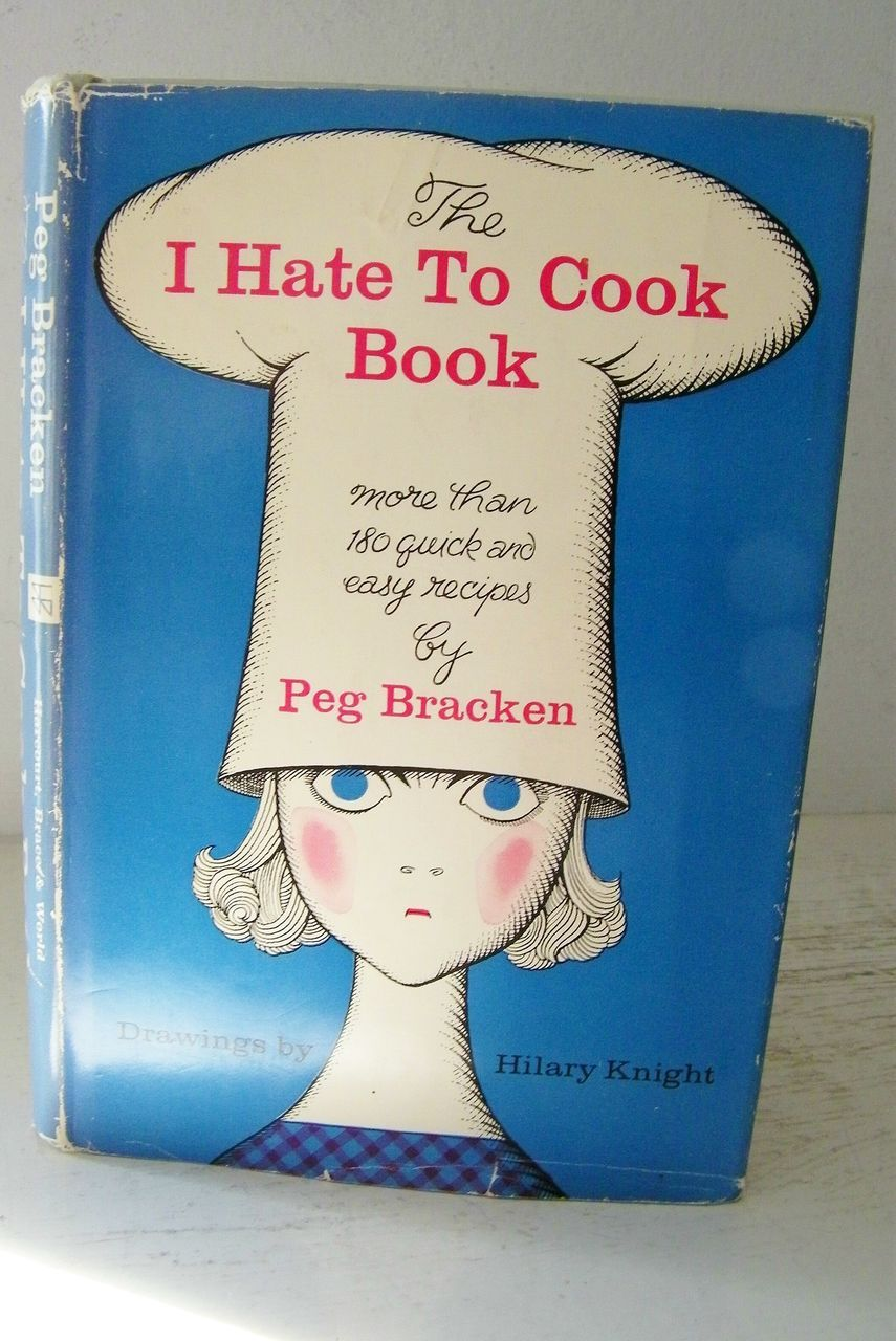 """1st Edition SIGNED by author """"I Hate To Cook Cook Book"""""""