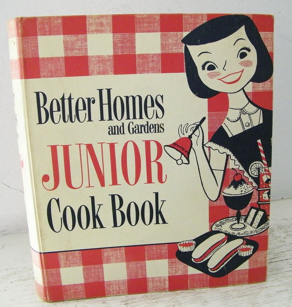 1st Edition 1955 Junior Cook Book