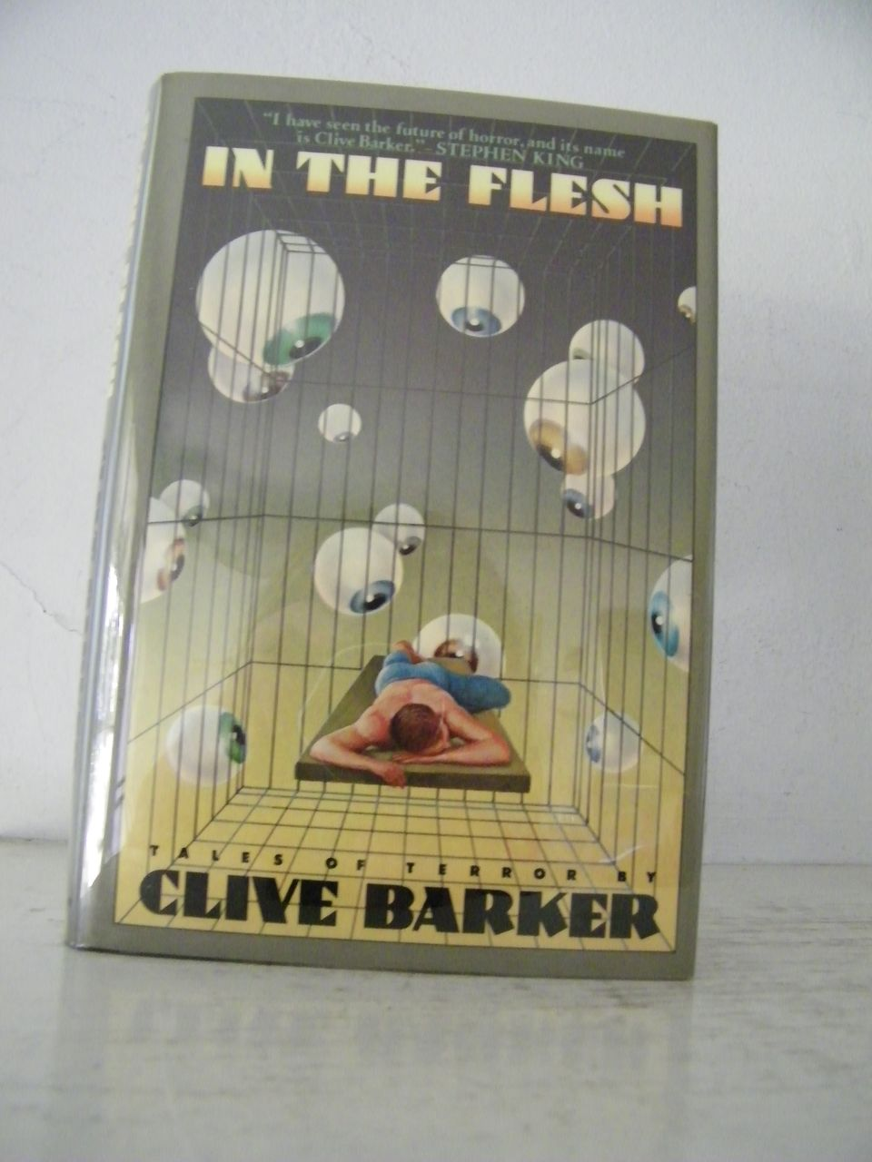 """1st Edition """"In The Flesh"""" Clive Barker 1986"""