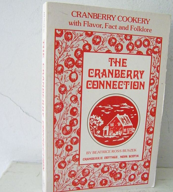 Cranberry Cook Book from Nova Scotia