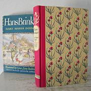 Hans Brinker Illustrated 1945 Illustrated Junior Library edition