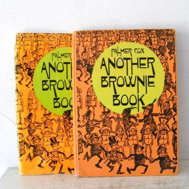 Another Brownie Book by Palmer Cox  Fantastic Illustrations