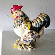 Ceramic Rooster Planter