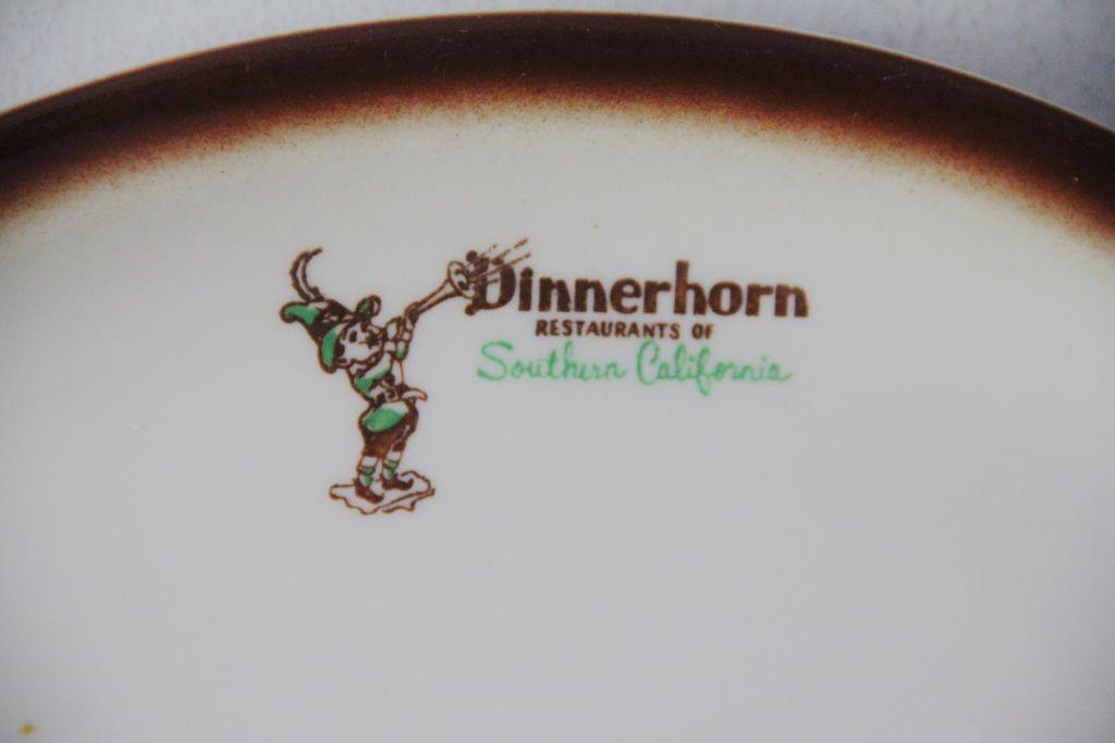 Dinnerhorn Restaurants of Southern California platter
