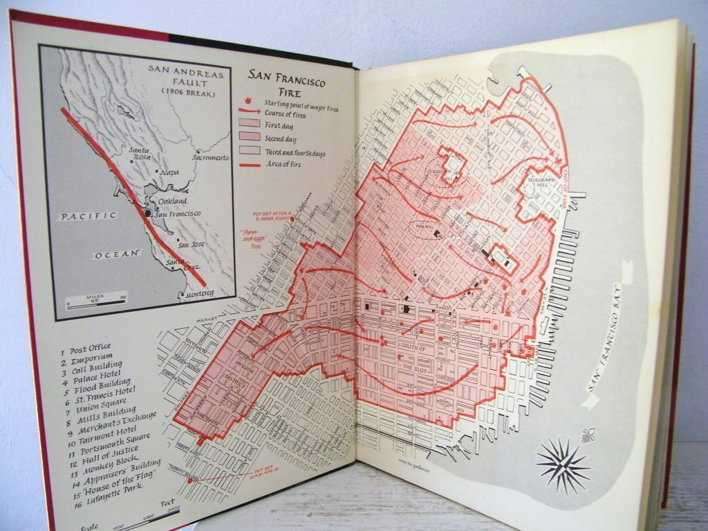 San Francisco Earthquake of 1906 1st Edition
