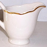Syracuse China Gravy Boat Vintage 1929