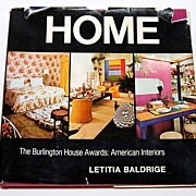 1972 HOME ~ Burlington House Awards: American Interiors Book