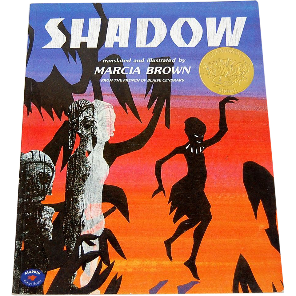 1982 Shadow Softcover Book ~ Author Marcia Brown