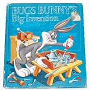 1953 Bugs Bunny's Big Invention Book