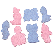 SALE 1993 Wilton ~ Precious Moments 7-Pc Cookie Cutters