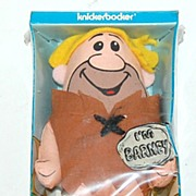 SALE 1972 Knickerbocker ~ Barney Flintstones Cloth Doll