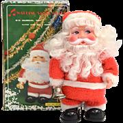 1970s Singing Christmas Santa w/ Original Box