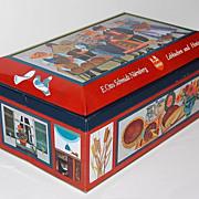 SALE Vintage E. Otto Schmidt Biscuit Tin ~ West Germany