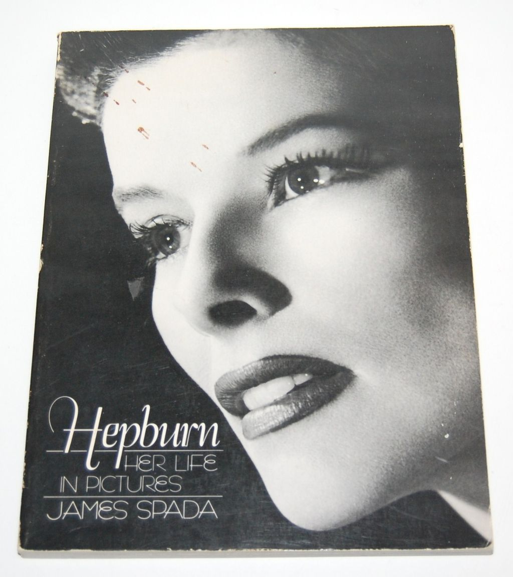 1984 Katharine Hepburn ~ Her Life in Pictures Softcover Book