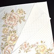 1970s Cannon Monticello ~ Earthtone Rose Std/Queen Pillowcase