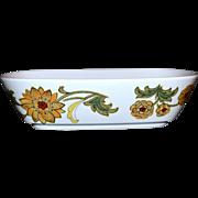 1970s Noritake ~ Aloha Rectangular Vegetable Bowl