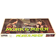 SALE 1979 Mork & Mindy Game of Splink Board Game