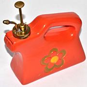 SALE 1960s Flower Power Brass Nozzle Water Sprayer/Mister