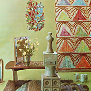 1965 Interior Decoration A to Z Hardcover Book