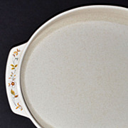 Lenox Temper-ware ~ Merriment Pattern Platter