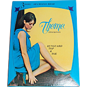 1960s Theme Stockings ~ Nylon Stockings Lingerie Box