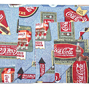 1980s Coca-Cola Standard Pillowcase Sham