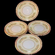 1930s Noritake China ~ Hermosa Pattern ~ Set of 6 Salad Plates