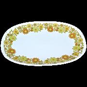 "1970s Noritake China Summerville ~ 13"" Oval Platter"
