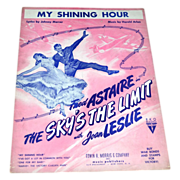 SALE 1943 The Sky's The Limit 'My Shining Hour' Sheet Music