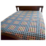 SALE Pastel Pinwheel Block Pattern Handmade Quilt