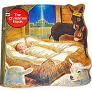 1979 The Christmas Book A Golden Shape Book