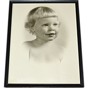 1950 Darling 'Mary Constance' Original Baby Girl or Toddler 11x14 Large Photo