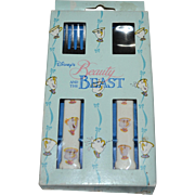 SALE Walt Disney 'Beauty and the Beast' Child's Fork & Spoon Set