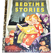 1992 Bedtime Stories 50th Anniversary Little Golden Book