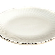 """Syracuse China SILHOUETTE Wedding Ring Meat Platter 14 1/4"""" RETIRED"""