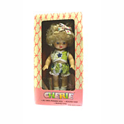 """Vinyl Doll New In Box 8"""" CHERIE By Cititoy With Rooted Hair And Accessories"""