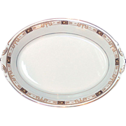 """Syracuse China """"Old Ivory"""" Meat Platter Plate"""