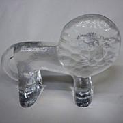 Kosta Boda Zoo Series Glass Lion Large