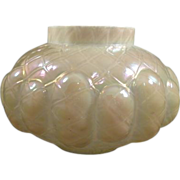 Kralik Mother of Pearl Quilted Puffy Rose Bowl