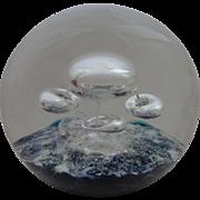 Selkirk Glass Paperweight 1982 Orbiter  Box Certificate 38/400