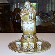"SALE Rare Schafer & Vater 1900's ""Spiritually Uplifting"" 11-1/2"" Decanter Music"