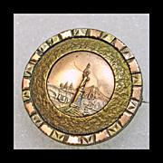 Victorian Statue of Liberty Pin/Pendant
