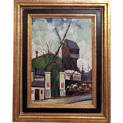 Elisee Maclet Original oil on canvas