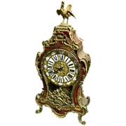 Large French Boulle Clock circa 1860