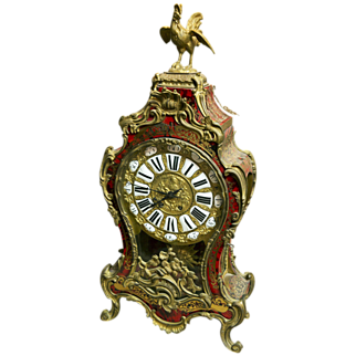 SALE Large French Boulle Clock circa 1860