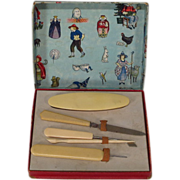 Vintage Child's Manicure Set