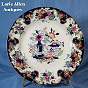 Antique Mason's English ironstone plate oriental design