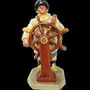 "Royal Doulton Figurine ""The Helmsman"", No. HN2499, 1973 Sea Character Series"