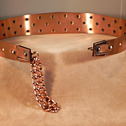 REDUCED Renoir-Hobnail-Copper-Belt-1960's