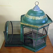 Rare Vintage Squirrel Cage